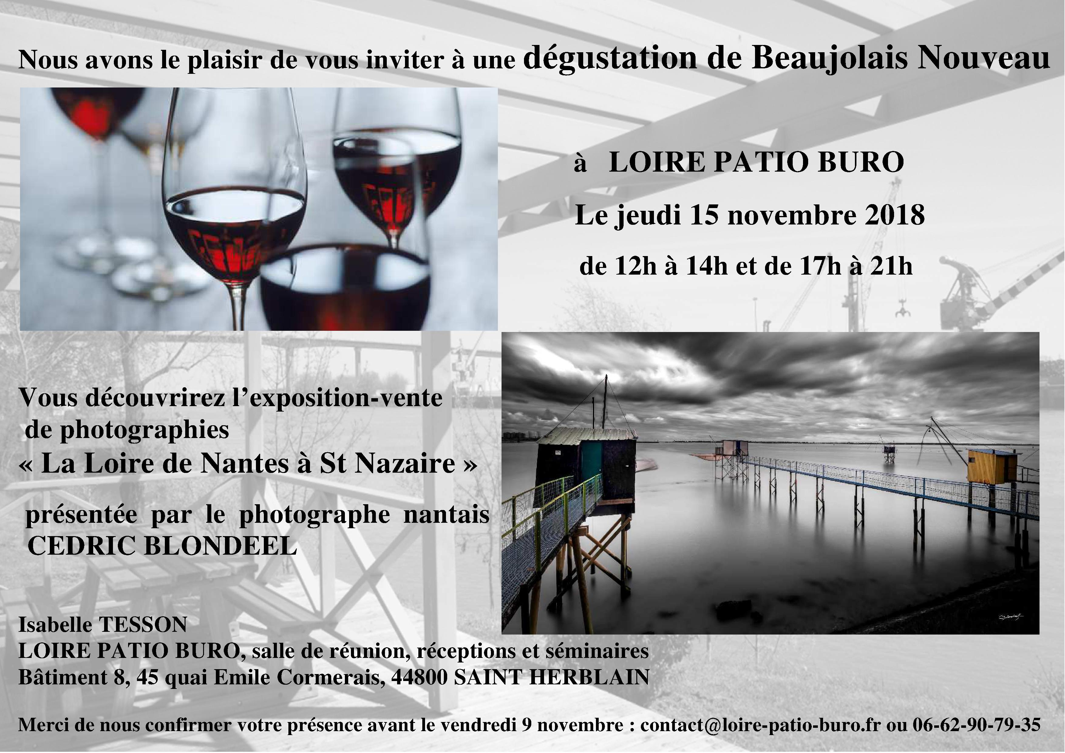 invitation beaujolais 15-11-2018